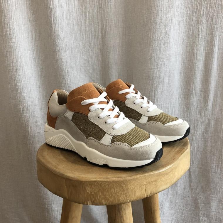 sneakers JACQUES lurex de profi 1