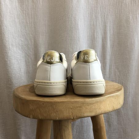 V-10 white / gold de dos