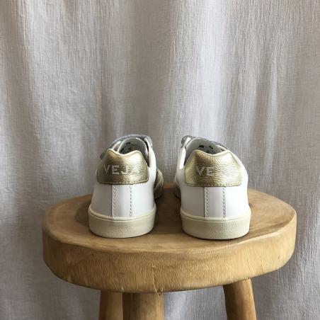 3-LOCK white / gold de dos
