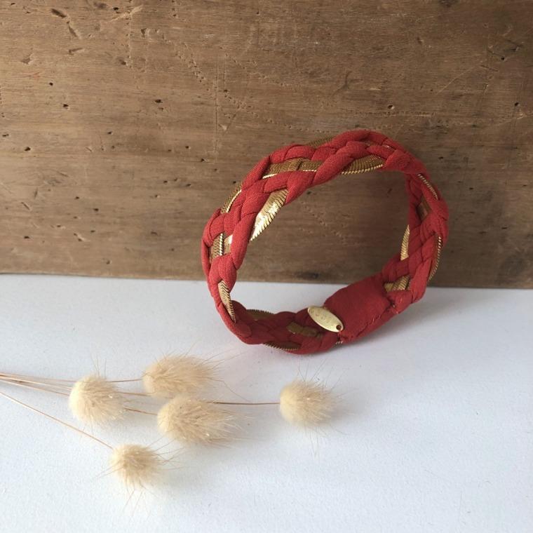 bracelet INNA brique