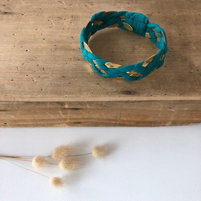 bracelet INNA vert émeraude