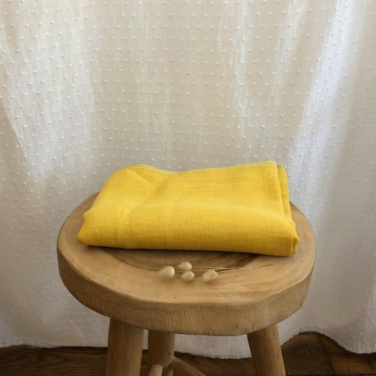 foulard IBIZA moutarde