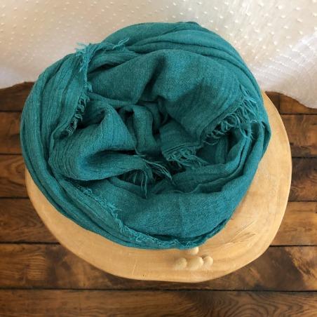 foulard saint-gervais paon