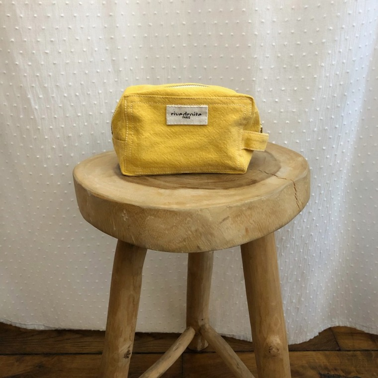 trousse tournelles yellow
