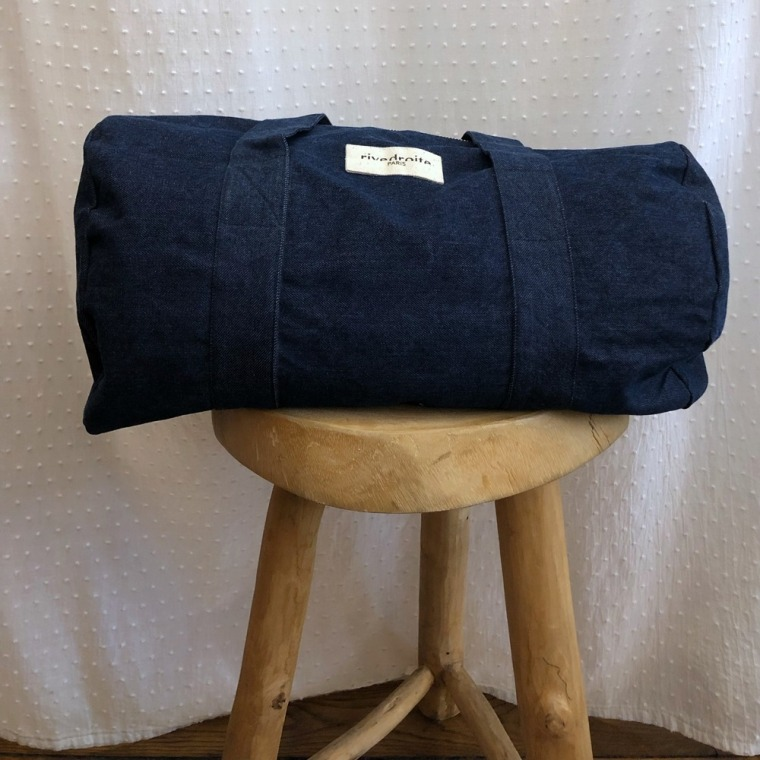 sac charlot denim brut