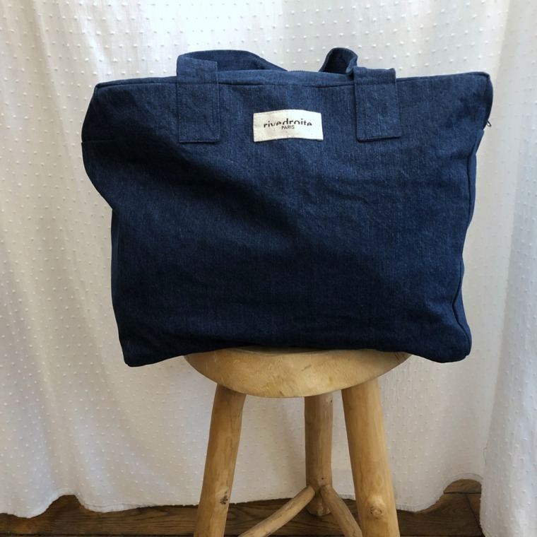 sac célestins denim brut