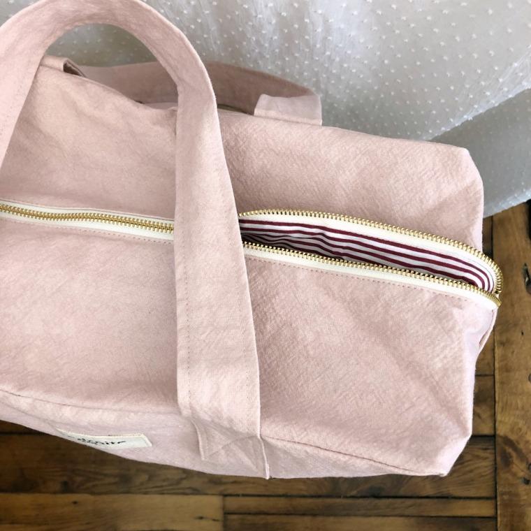 sac célestins rose minéral