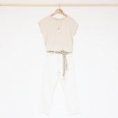 • t e n u e  d u  j o u r •  t-shirt #ICHI collier #CHARACTER jeans #FAM ceinture #HARTFORD  doux week-end 🌿  #lesvoltigeuses #boutiqueparisienne #boutiqueenligne #hartford #ichi #fam #ideetenue #tenuedujour #tenuedujourbonjour #lookdujour